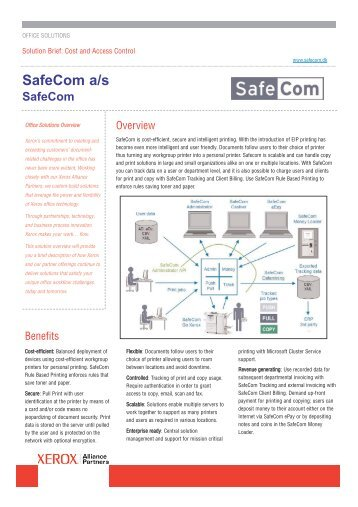 safecom go xerox manual book - FREE ONLINE