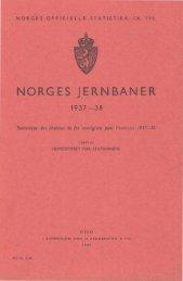 Norges jernbaner 1937-38