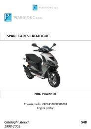 Piaggio NRG Power DT - Strassi´s Roller Shop