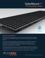 SOLARMOUNT-I Sales Brochure - Unirac