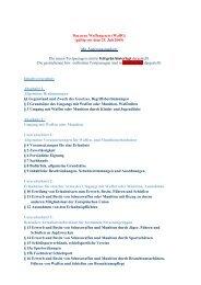 Das neue Waffengesetz (WaffG) (gültig seit dem 25. Juli 2009) Mit ...