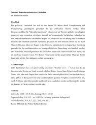 SE12.12 Transformationen - Verfassung jenseits des Staates