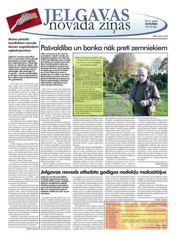 2012. gada oktobris Nr.10. - Jelgavas rajona padome