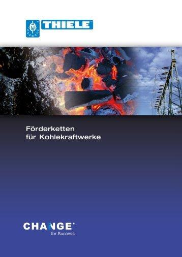 Förderketten für Kohlekraftwerke (1.44 MB) - Thiele