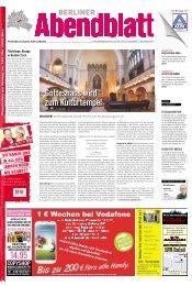 Gotteshaus wird zum Kulturtempel - Berliner Abendblatt