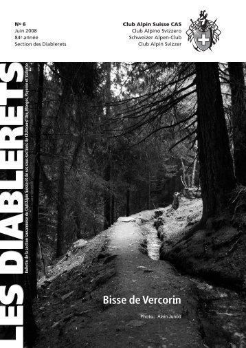 Juin - Club Alpin Suisse - Section des Diablerets