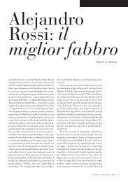 Alejandro Rossi - Revista de la Universidad de México