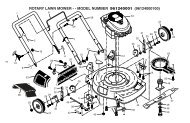 rotary lawn mower - - model number 961240001 ... - Klippo