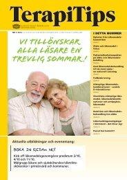 TerapiTips nr 3 - Landstinget Sörmland