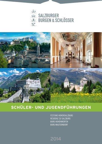 Schüler - Salzburgs Burgen und Schlösser