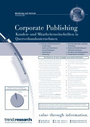 Corporate Publishing - trend:research