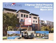 Citi 2013 Global Property CEO Conference ... - SNL Financial