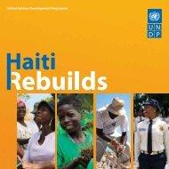 United Nations Development Programme - ONU en Haiti