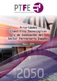 documento - Plataforma Tecnológica Ferroviaria Española
