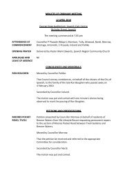 confirmation of - Ipswich City Council