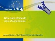Using extensions - datex2