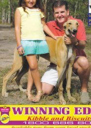 May'07 - Greyhounds Queensland