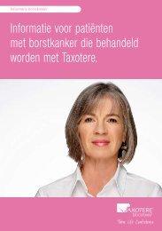 Informatie voor patiënten met borstkanker die behandeld worden ...