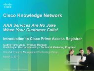 Non-Cisco device support - Cisco Knowledge Network