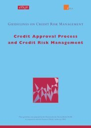 Credit Approval Process and Credit Risk Management