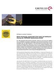 lösung der EMPRISE Systemhaus GmbH - PR-Journalist
