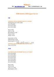 Galletto 1260 Support Car List.pdf - OBD2Repair