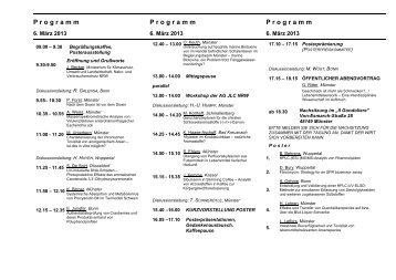 Programm der Tagung - Westfälische Wilhelms-Universität Münster