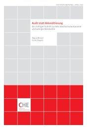 Audit statt Akkreditierung: ein richtiger Schritt zu mehr
