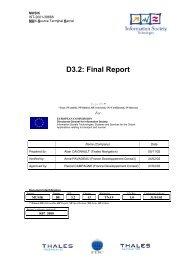 D3.2: Final Report - Transport Research & Innovation Portal