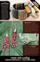 create with cording - Hobby Lobby