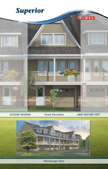 Superior - Pratt New Homes Innisfil