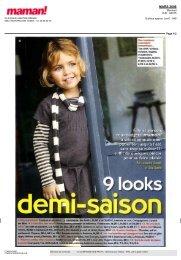 i 9 looks - La Compagnie des Petits