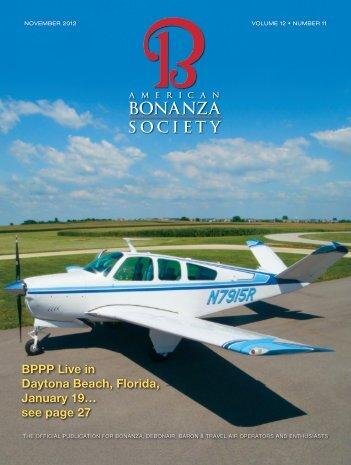 see page 27 - American Bonanza Society