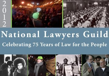 Celebrating 75 Years of Law for the People - National Lawyers Guild