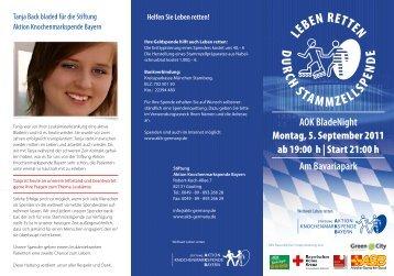 AOK BladeNight Montag, 5. September 2011 ab 19:00 h | Start 21 ...
