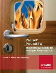 Palusol/Palusol SW - Brochure, US-Version - BASF Plastics Portal