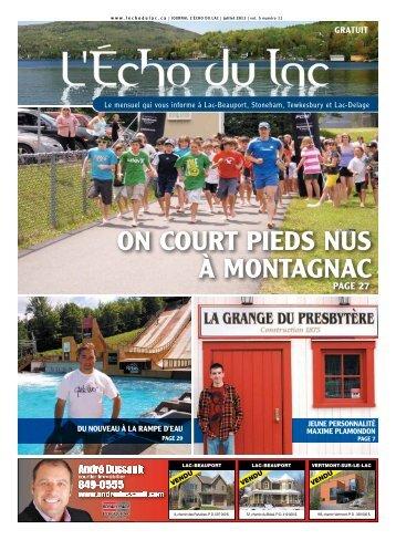 ON COURT PIEDS NUS à MONTAGNAC - L'Écho du Lac