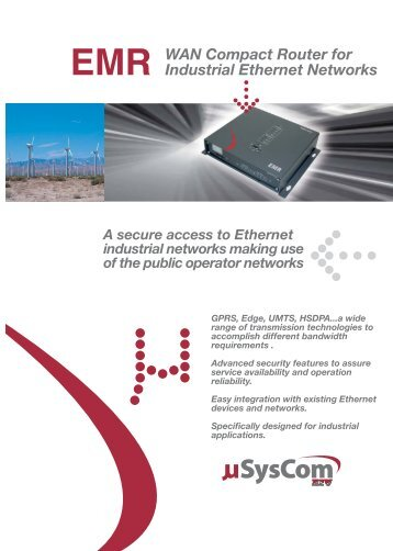 WAN Compact Router for Industrial Ethernet ... - D.D.S. Electronics