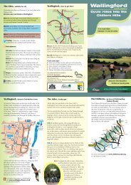 the Chilterns - Visit Southern Oxfordshire