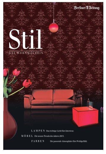 Stil – das Wohnmagazin - Berliner Zeitung
