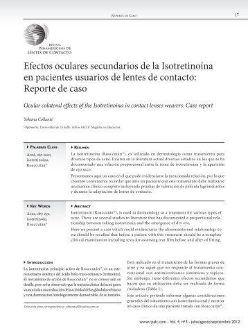 Donwload PDF - Revista Panamericana de Lentes de Contacto