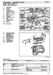 Zyllnderkopf aus-, einbauen MOTOR 601 im TYP 124, 201, 202 ...