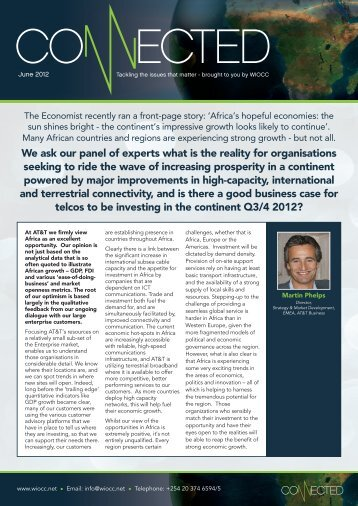 4297Connected Newsletter June 2012.pdf - Africa Com