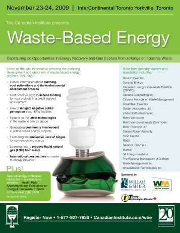 Waste-Based Energy - The Fu Foundation School of Engineering ...