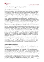 Merkblatt für den Einzug von Auslandsschecks - Sparkasse Trier