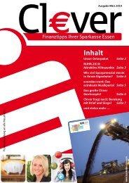 Cl€ver - Ausgabe März 2010 - Sparkasse Essen