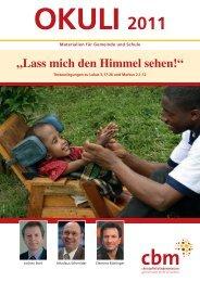 Bibelarbeit - Christoffel-Blindenmission