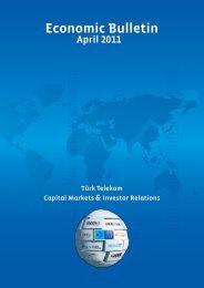 April 2011 - Türk Telekom Investor Relations