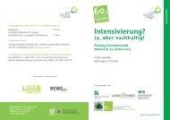 Forstwirtschaft - Wintertagung 2013 - Ökosoziales Forum
