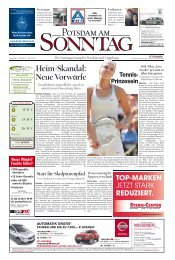 Heim-Skandal: Neue Vorwürfe - Potsdamer Neueste Nachrichten